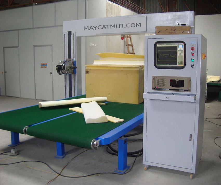Sản phẩm mút xốp của máy cắt mút CNC